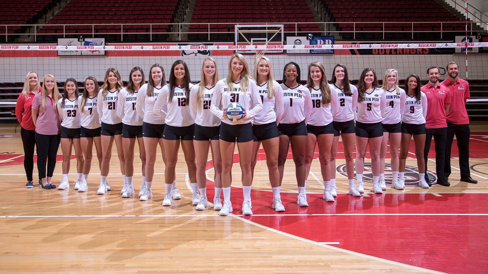 2018 women s volleyball roster austin peay state university athletics
