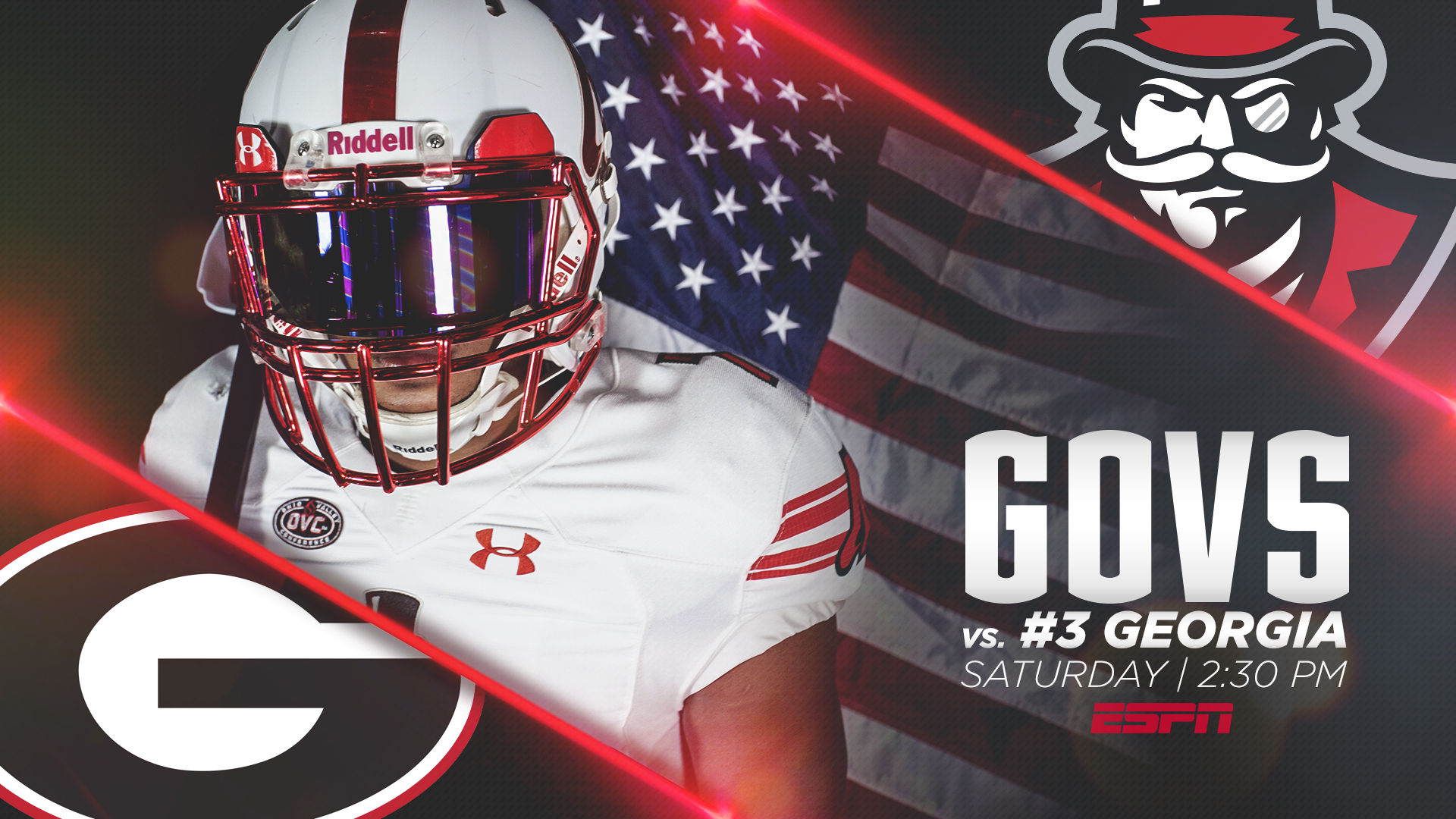 Governors kick off 2018 campaign at Georgia - Austin Peay State ... a1b7afbf0